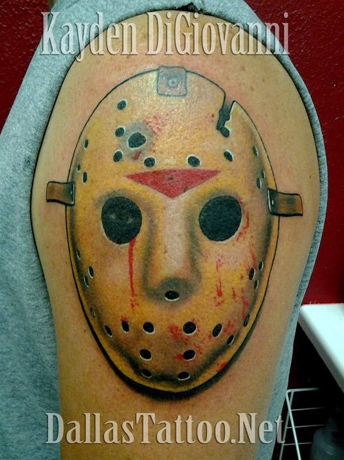 Dallas_Tattoo_Artist_Kayden_DiGiovanni_Jason_Mask_Friday_13th_hockey_horror_large
